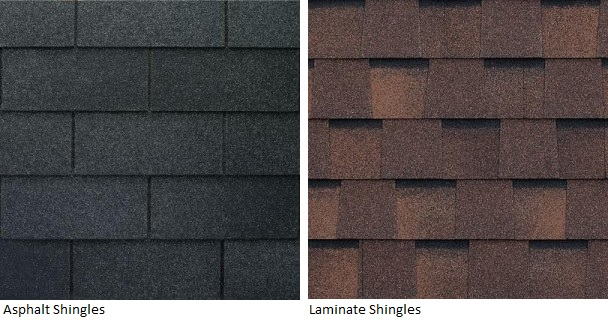 Asphalt and Laminate Shingles
