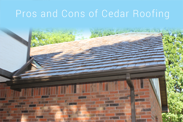What Are The Pros And Cons Of Cedar Roofing