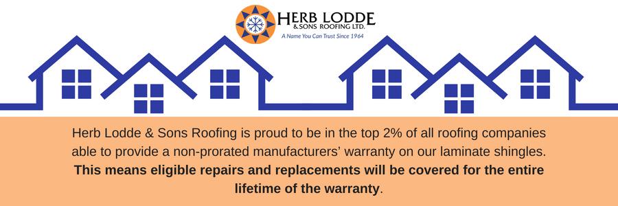 Herb Lodde & Sons workmanship warranties